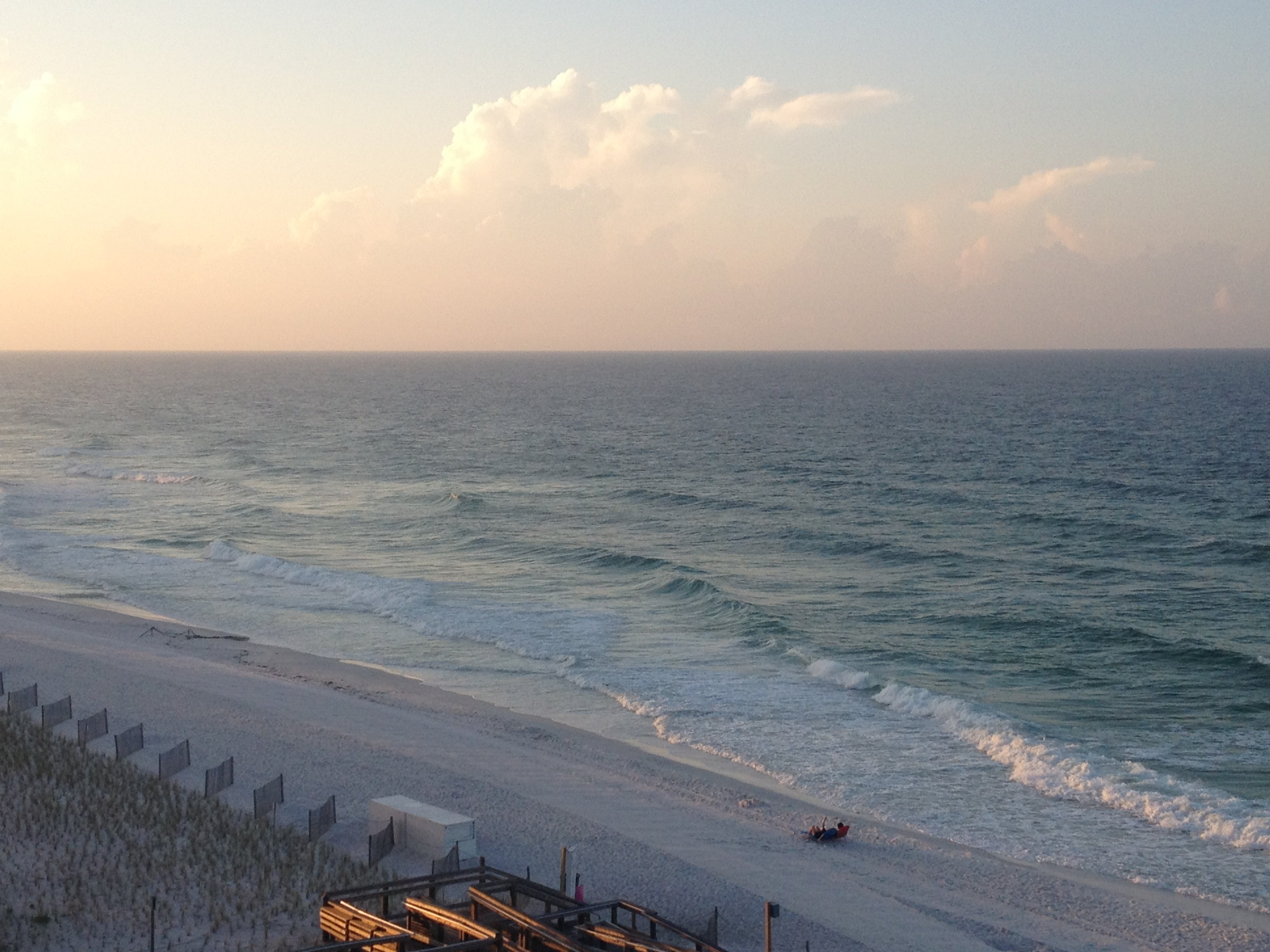 beach view from sandnsol destin balcony jade east