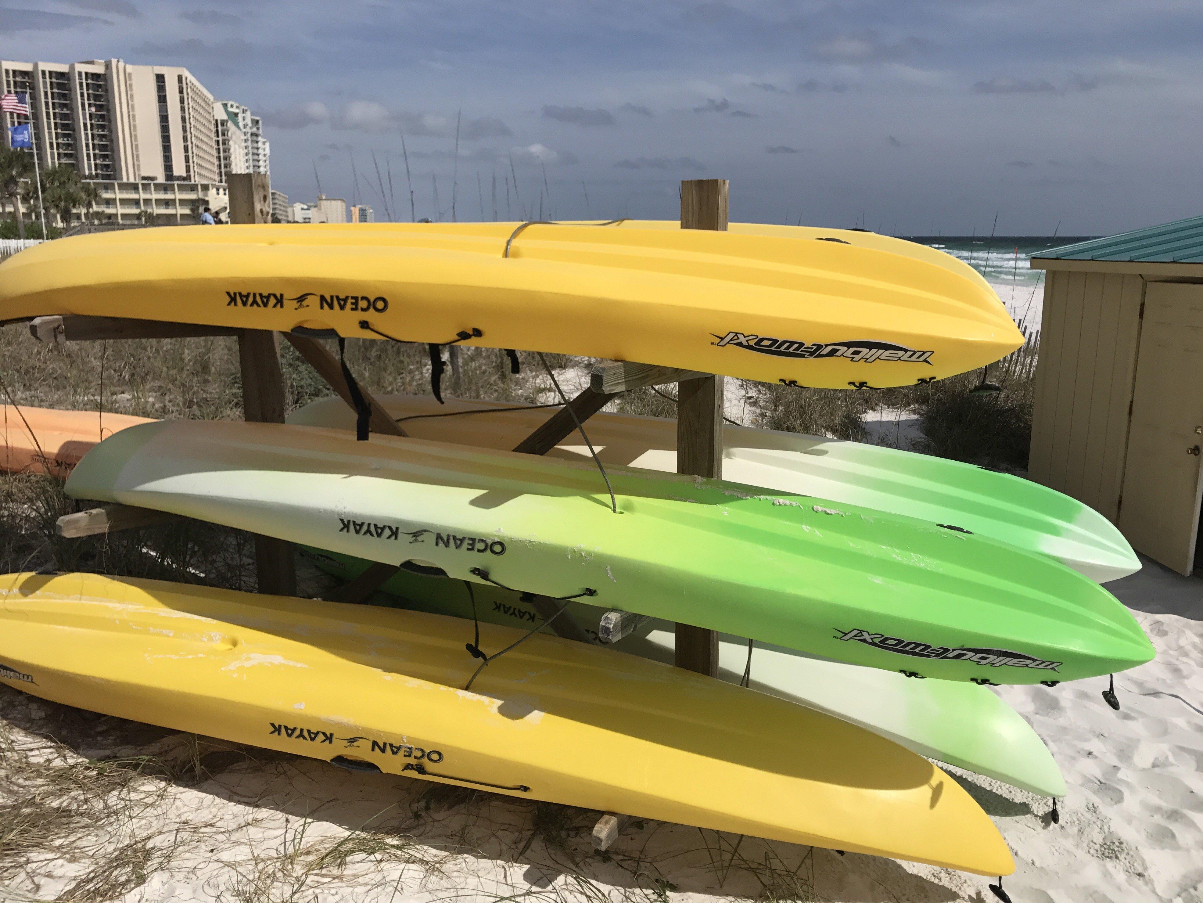 kayaks and paddleboard rental sandnsol destin condo