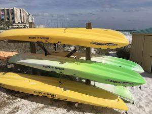 kayaks paddleboards