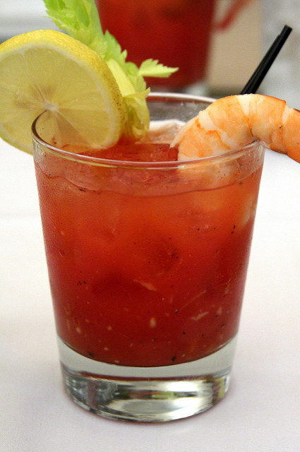 bloody mary at destin gumbo festival
