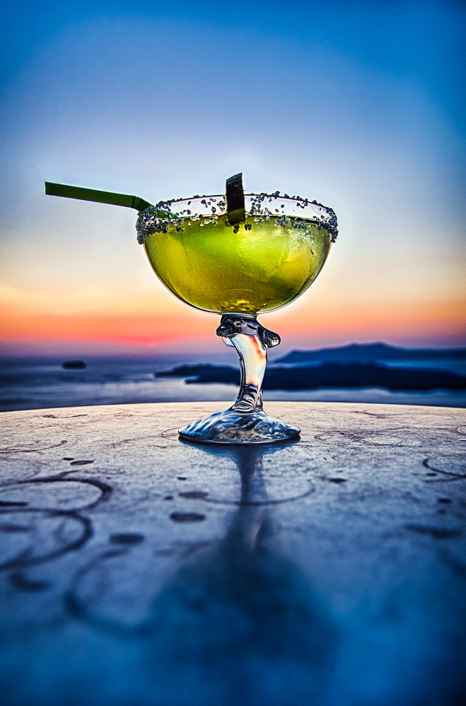 margarita at sunset at sandnsol destin
