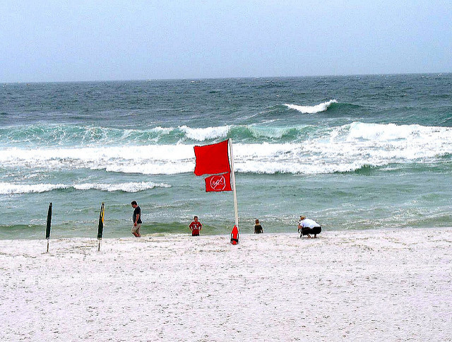 Destin Beach Flag Warnings - Vacation Soup