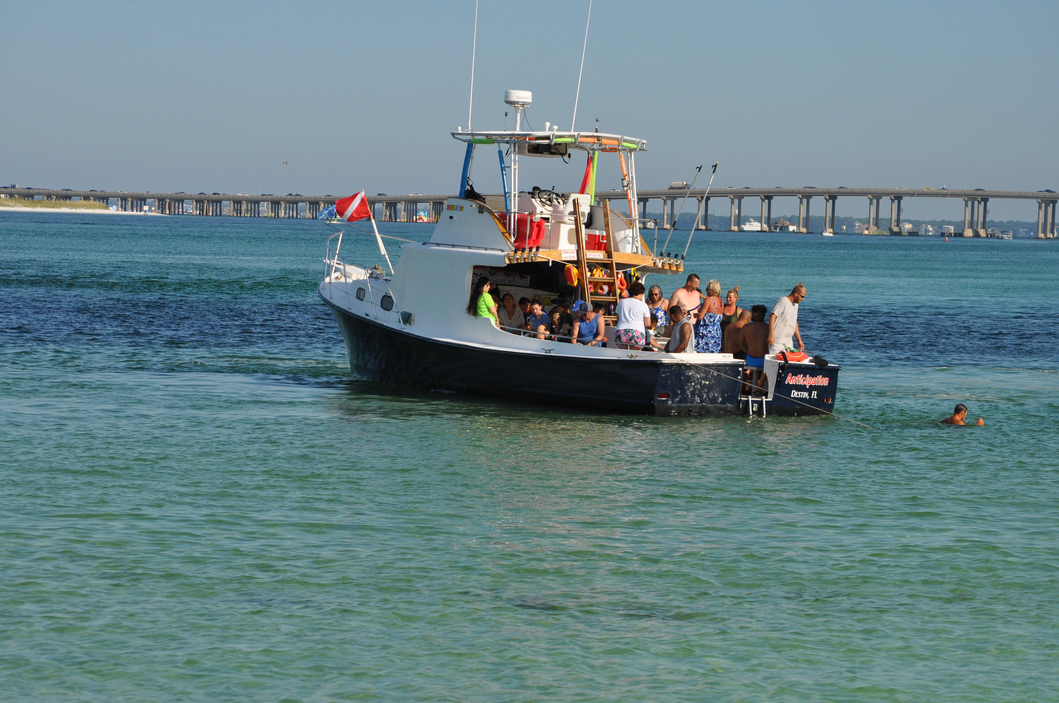 snorkel excursion in Destin Jetty