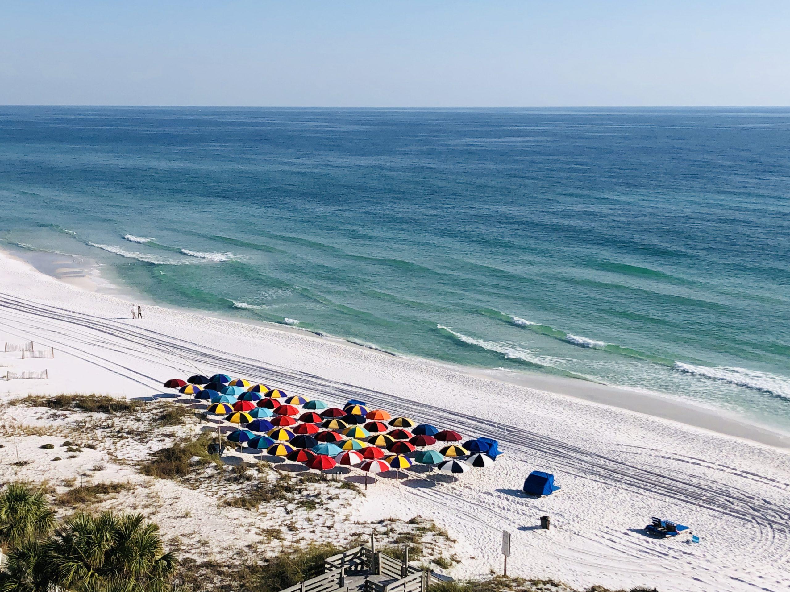 beach umbrellas Destin