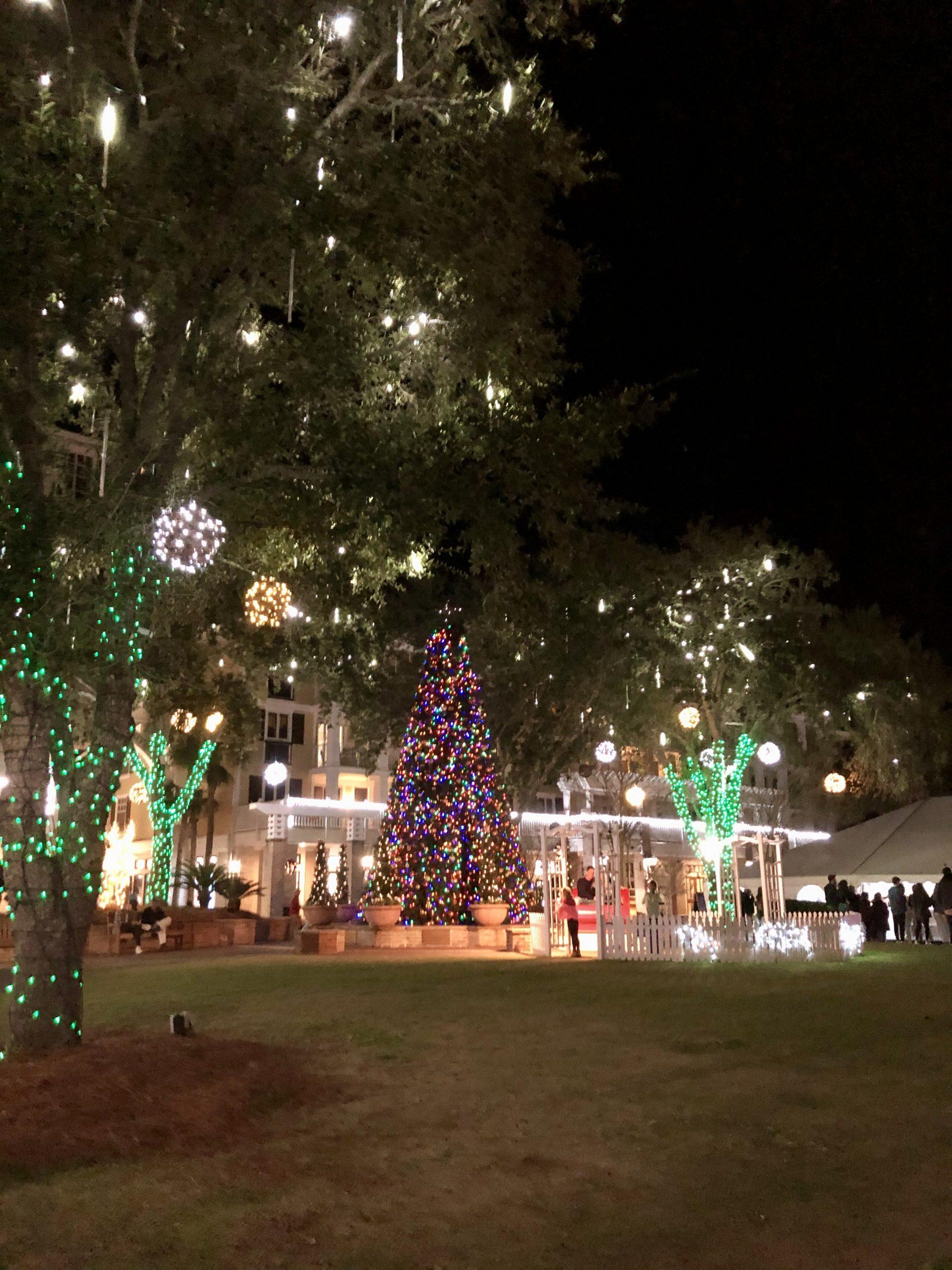 baytowne wharf christmas lights